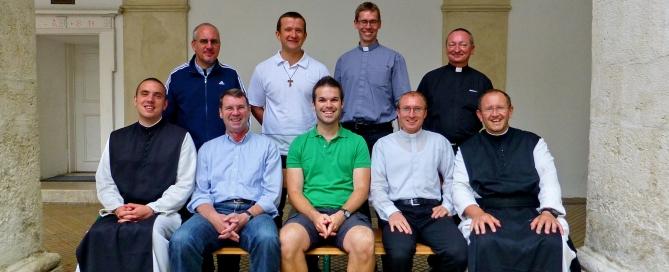 Priestersportwoche Gruppenfoto